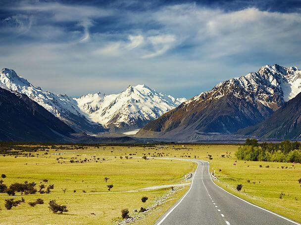 Сказочное Средиземье: Новая Зеландия