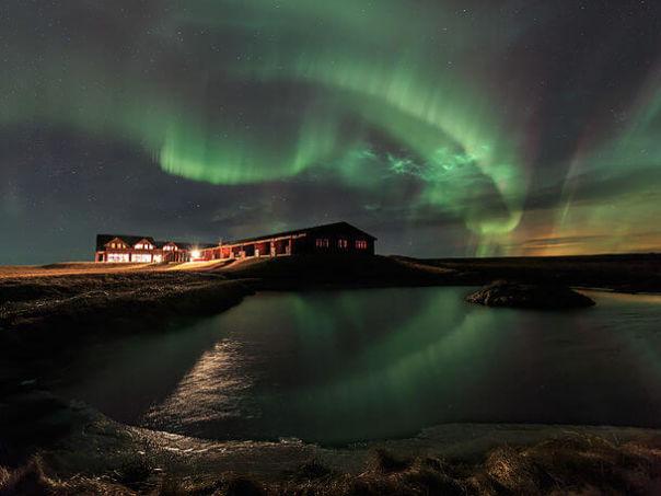отель Исландия Ranga юг Исландии