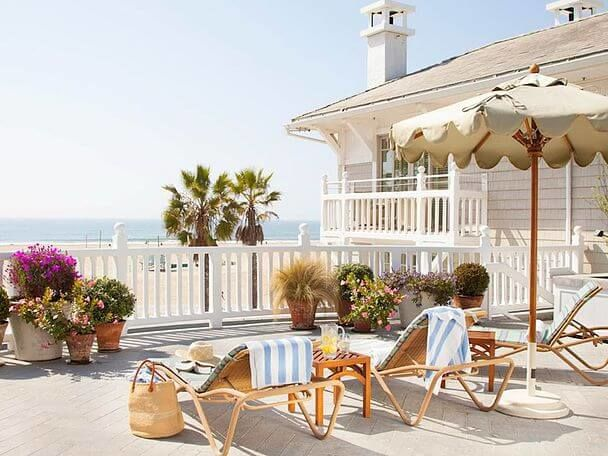 отель Калифорния Shutters on the beach