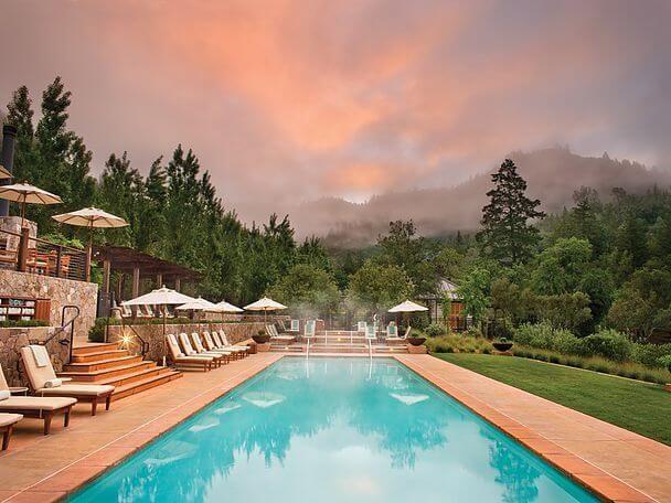 отель Долина Напа Calistoga Ranch