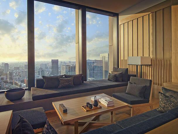 отель Япония Токио Aman hotel